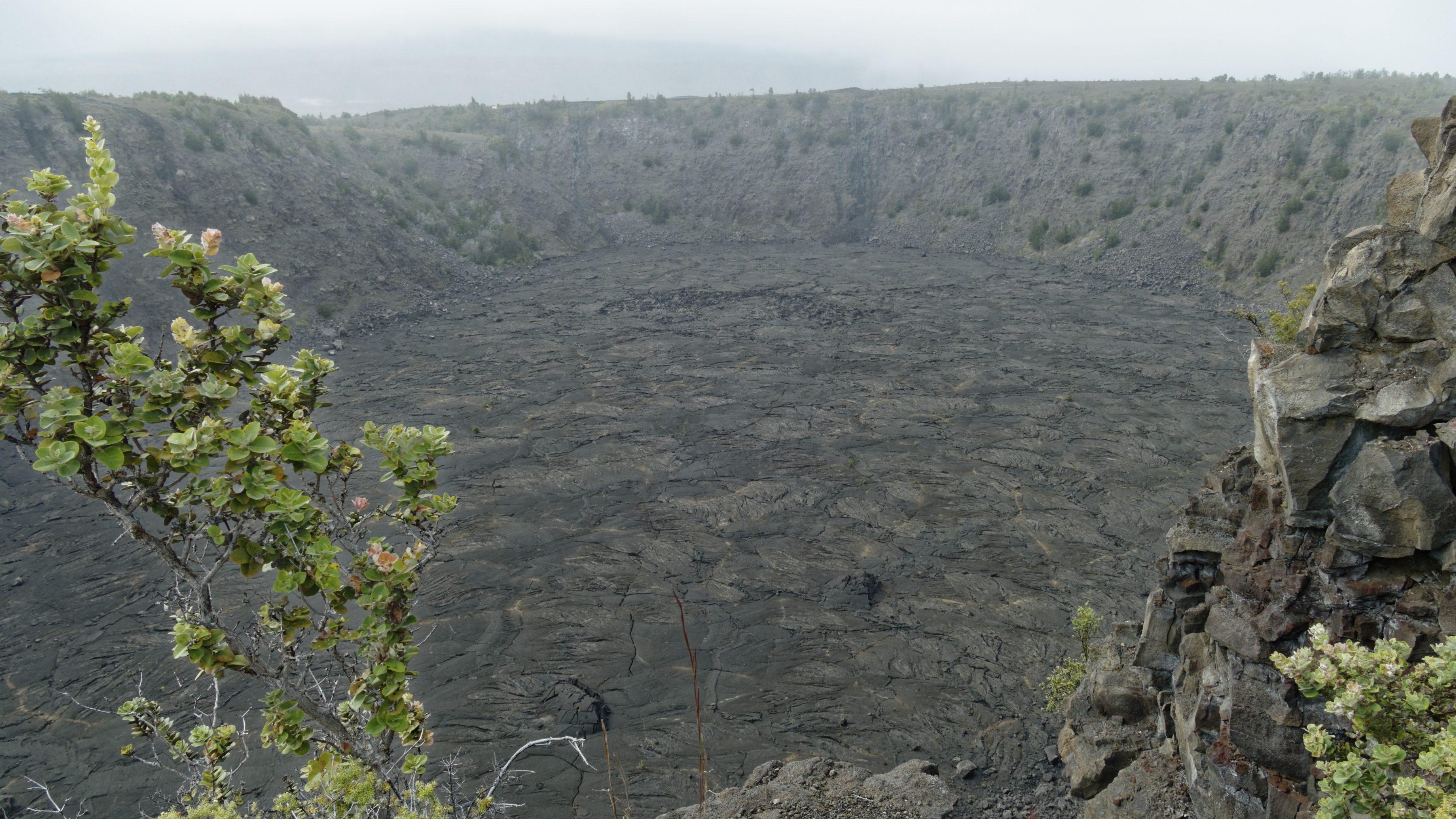 Le cratère du Keanakako'i