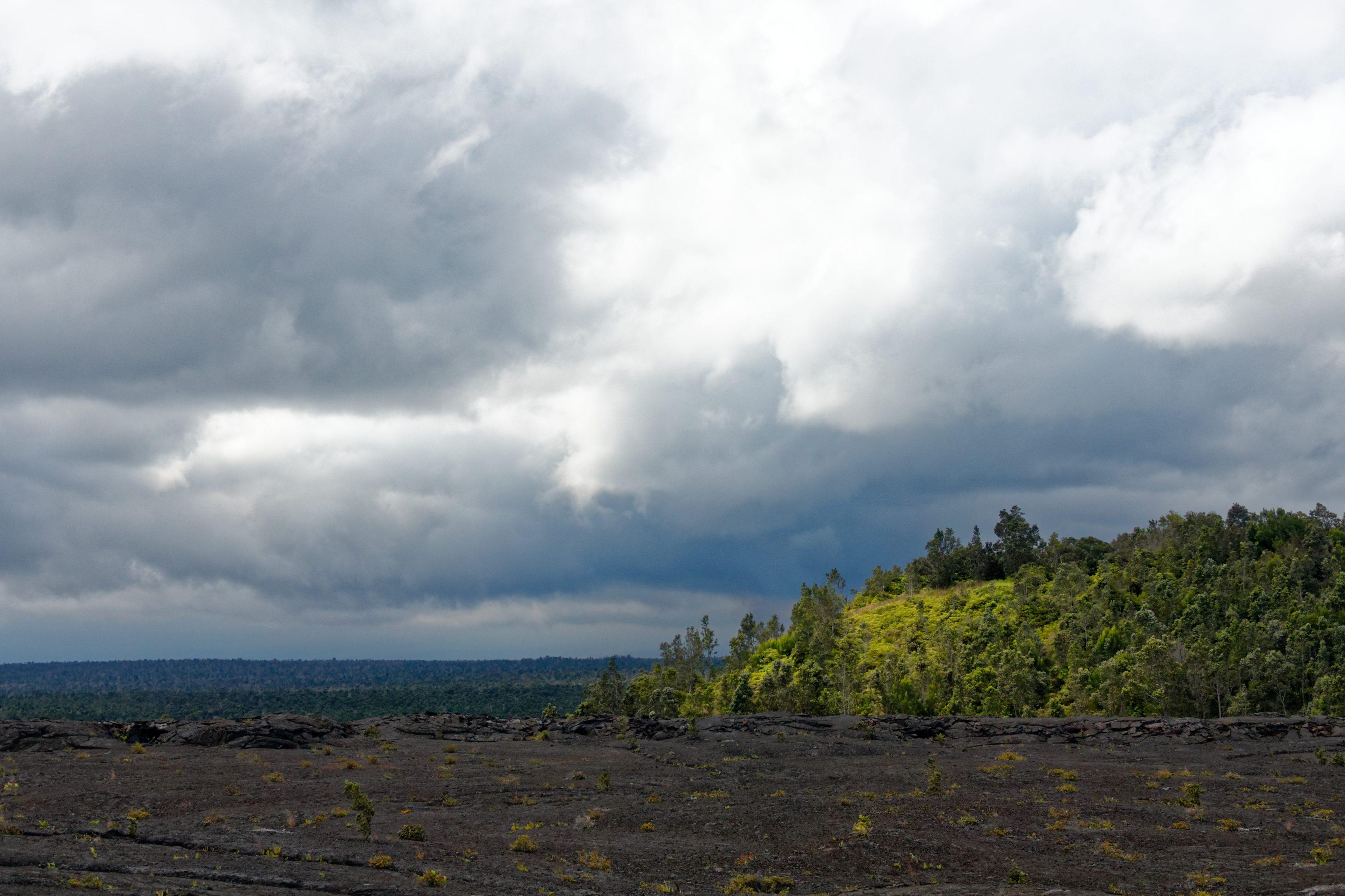Un dernier rayon de soleil sur Pu'U Huluhulu