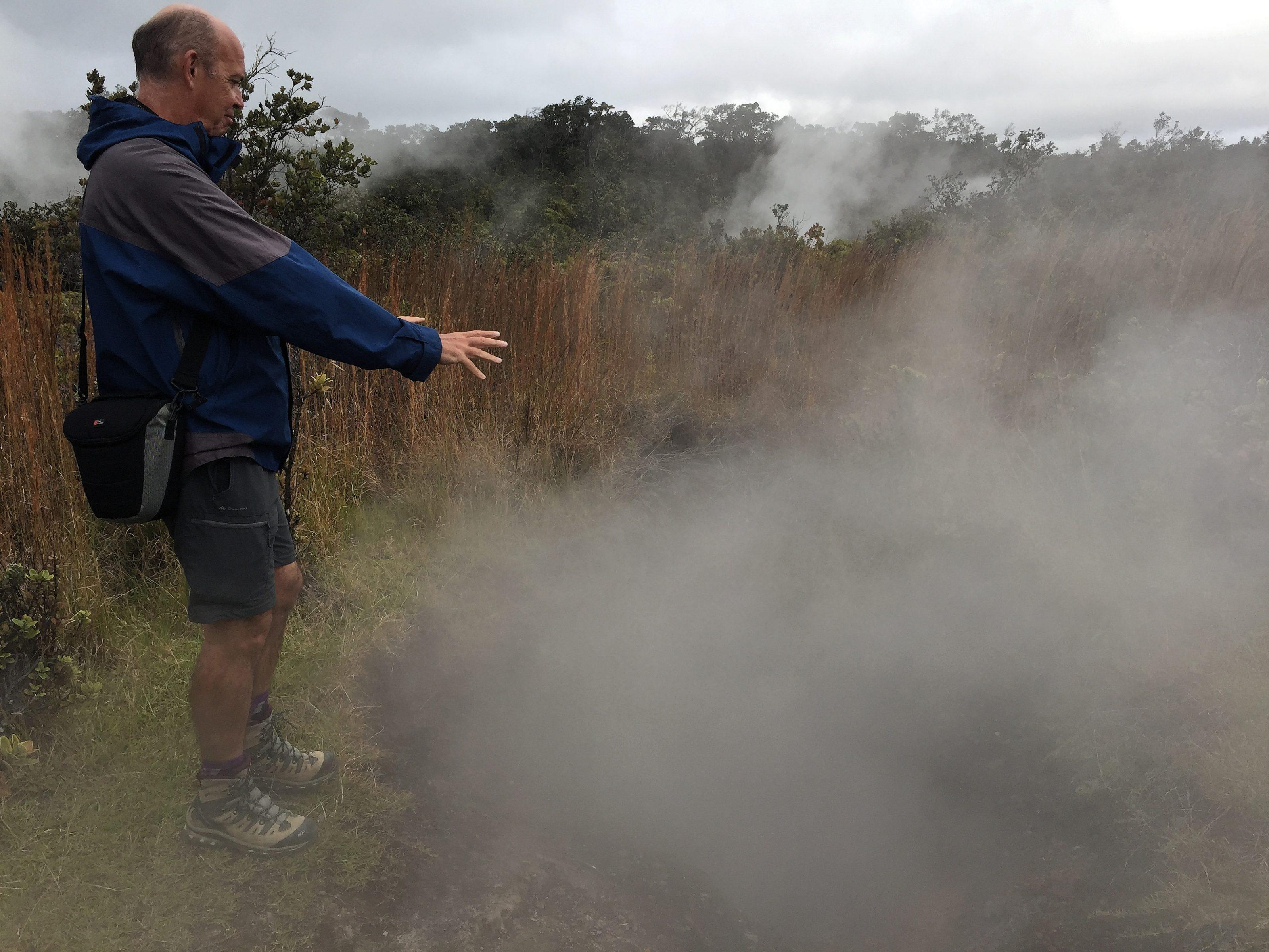 Vapeur ou gaz sulfureux ?