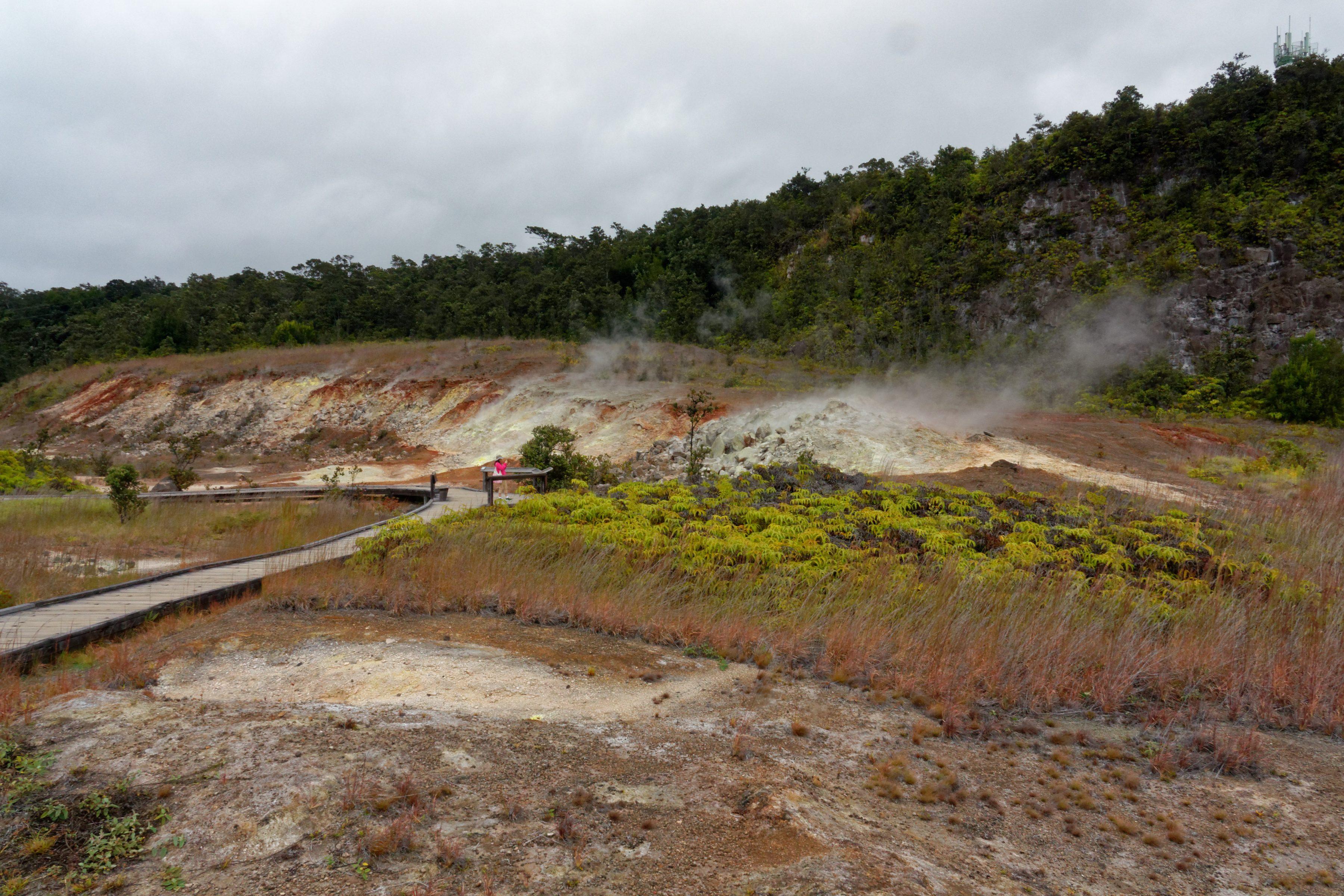Sulfur banks, dans le parc des volcans d'Hawaii