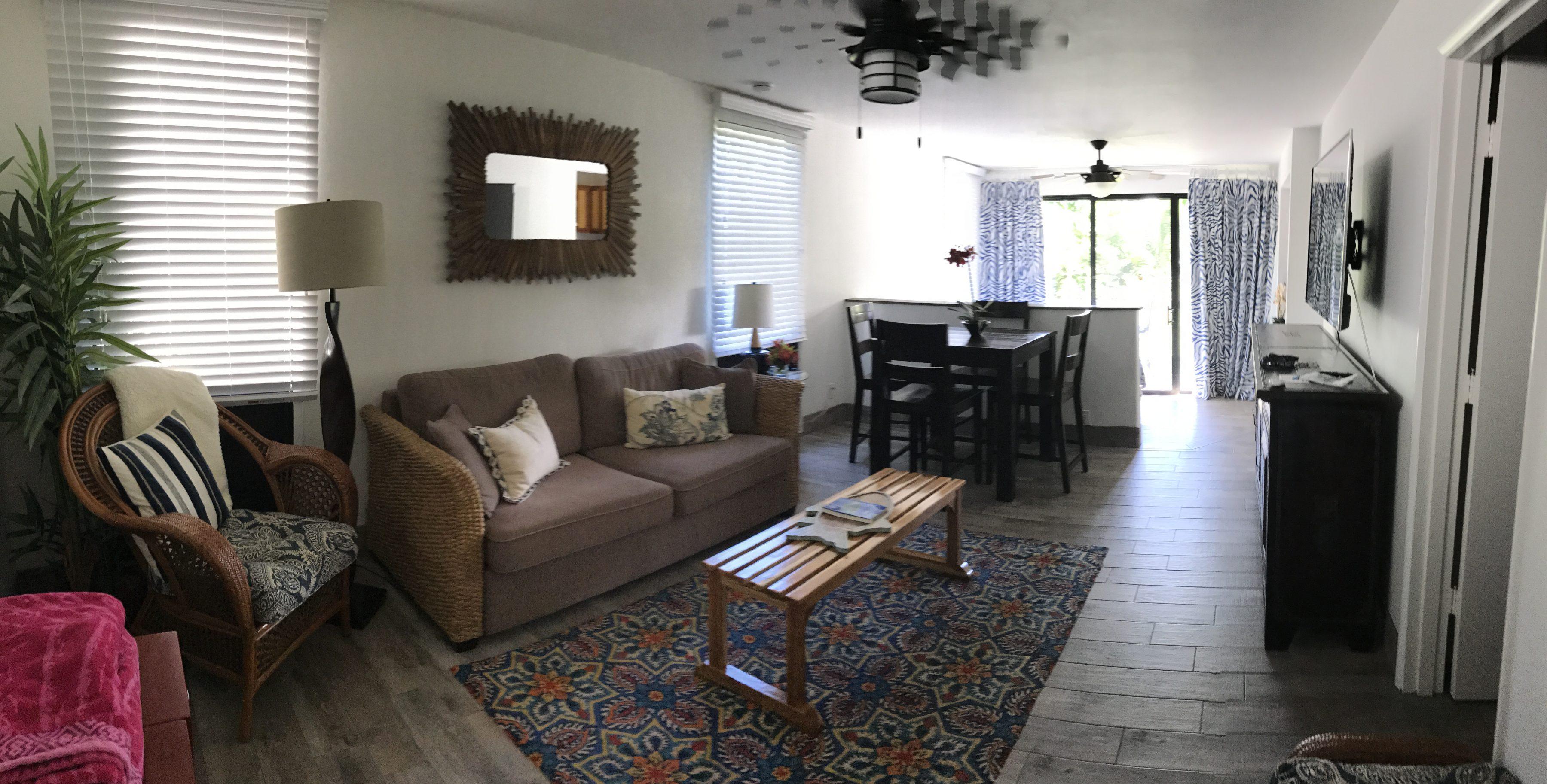 Notre petit appartement AirBnB à Princeville