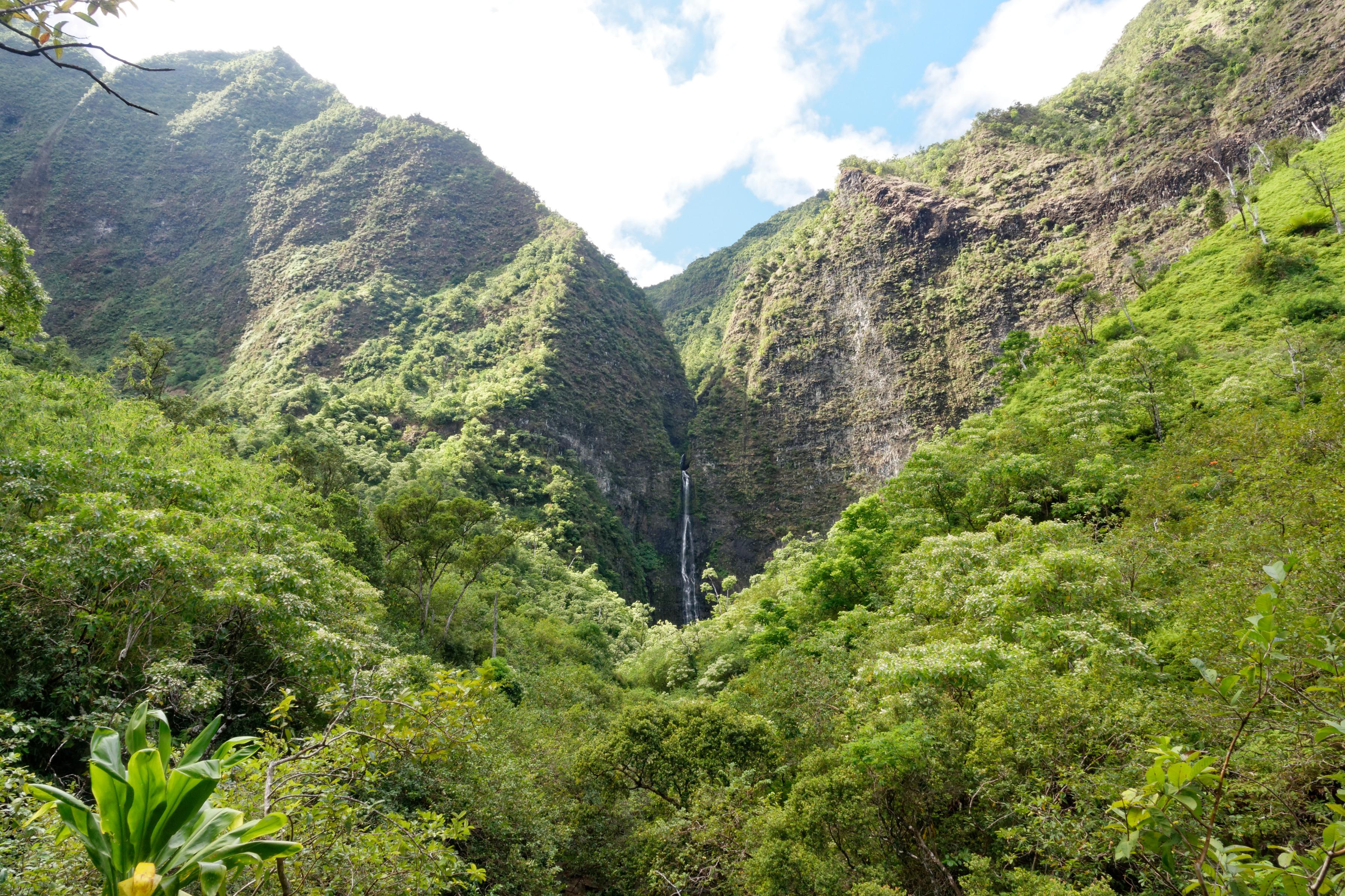 La cascade de Hanakapiai