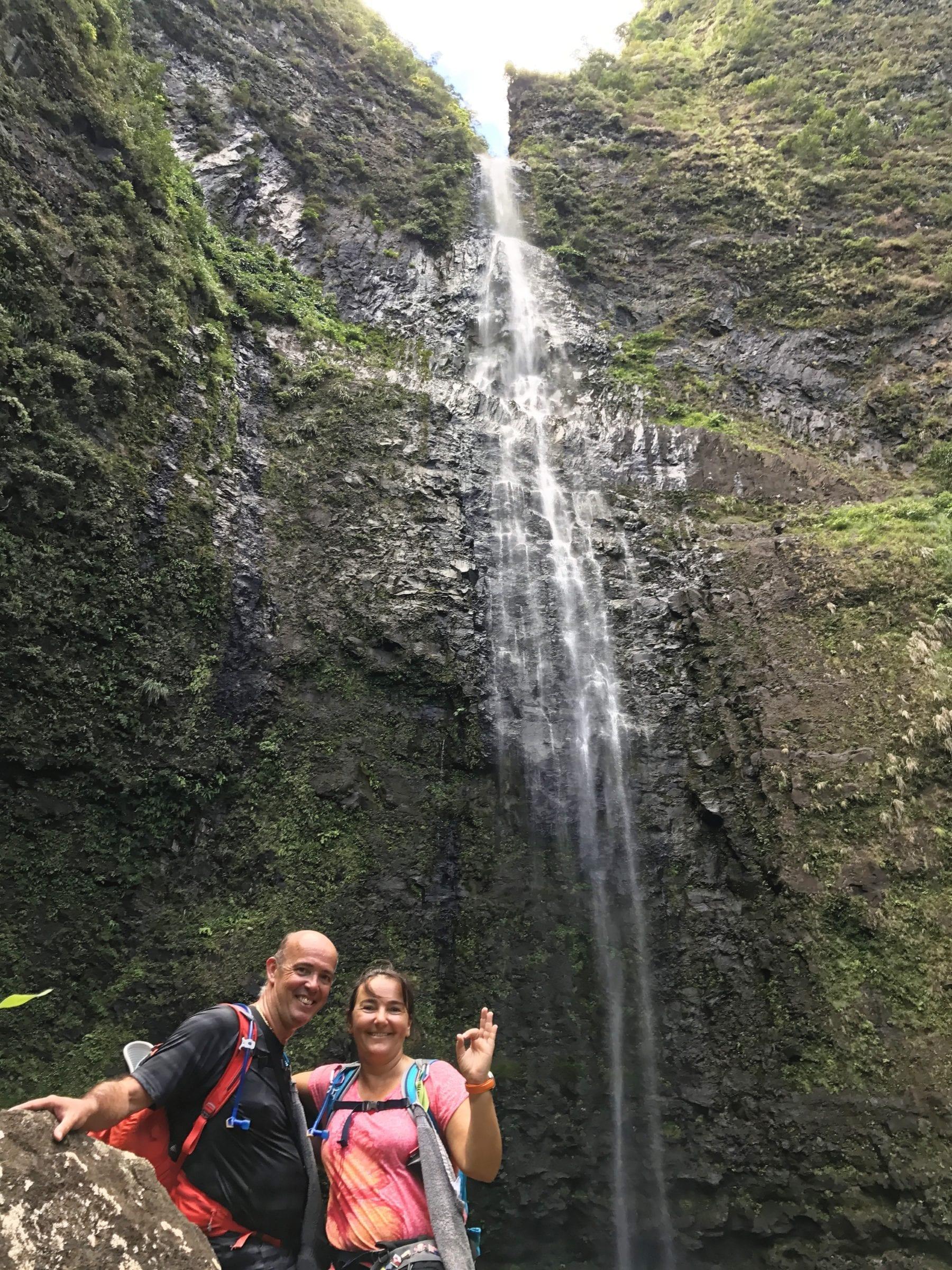 Un petit cocou de la chute de Hanakapi'ai