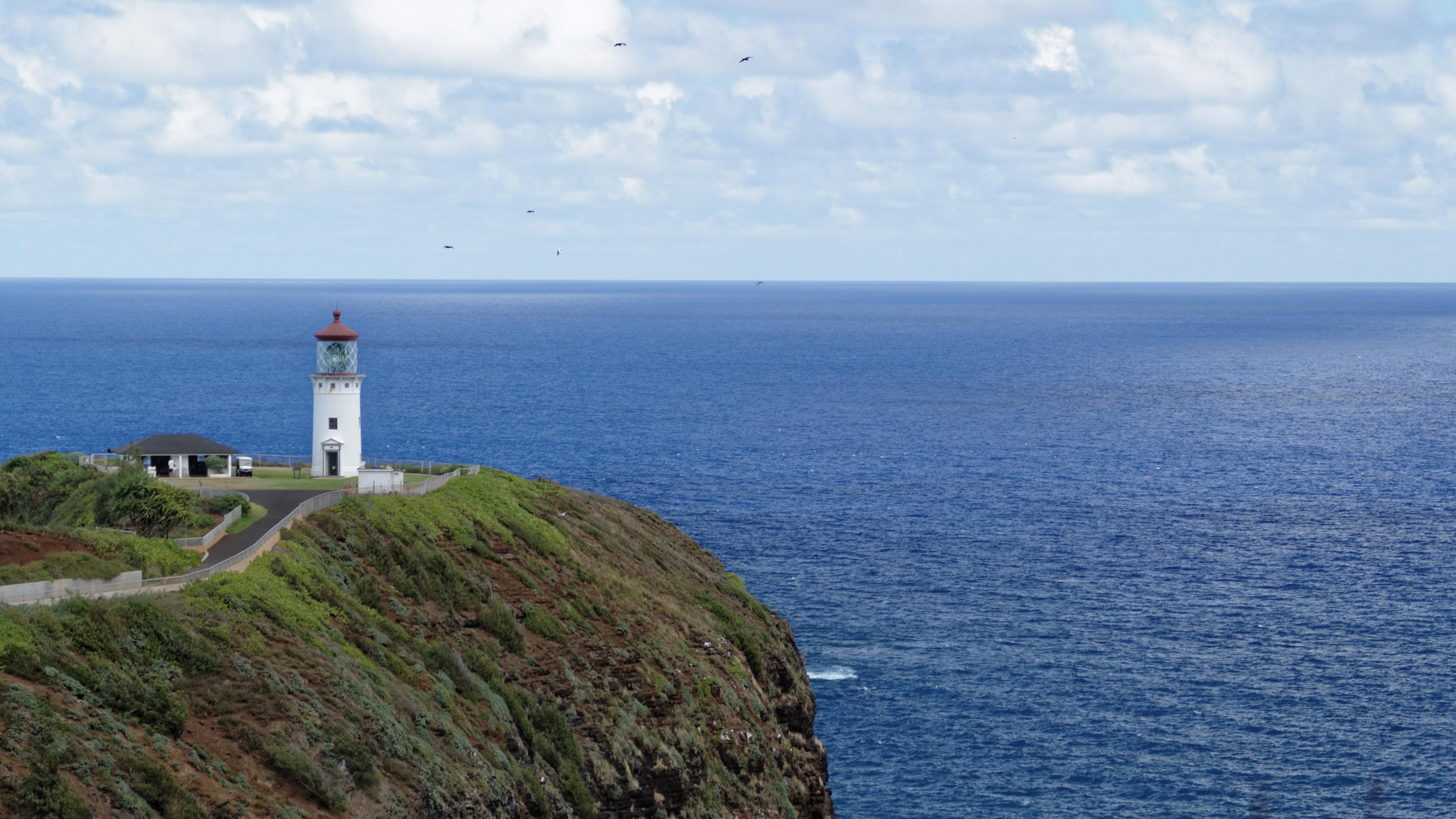 Le phare de Kilauea, au nord de Kauai