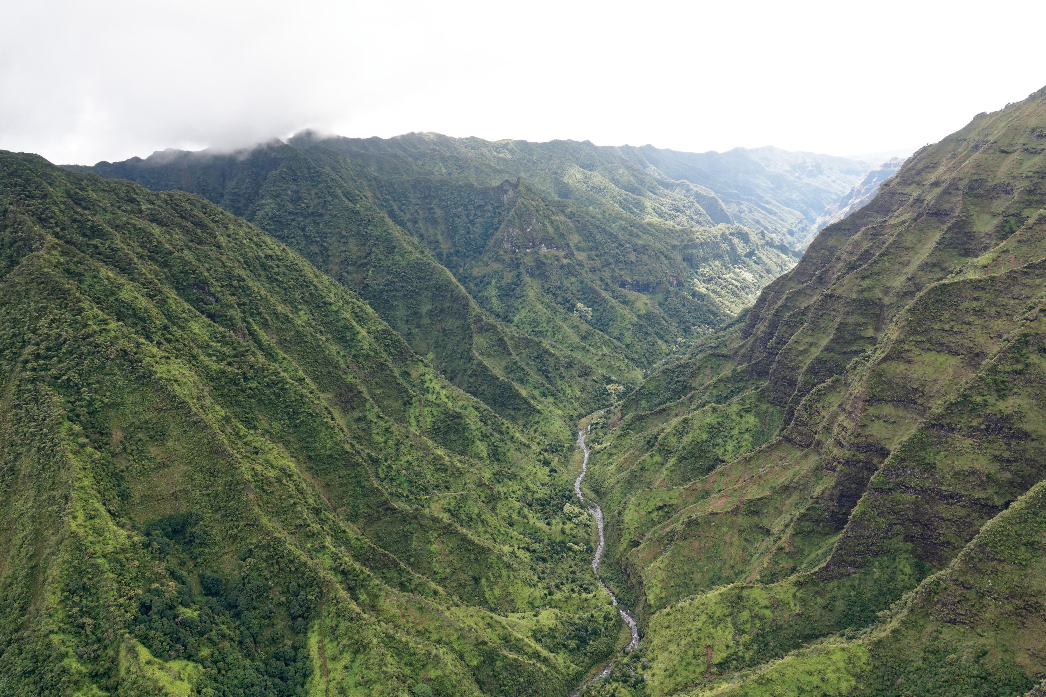 Un canyon à Kauai