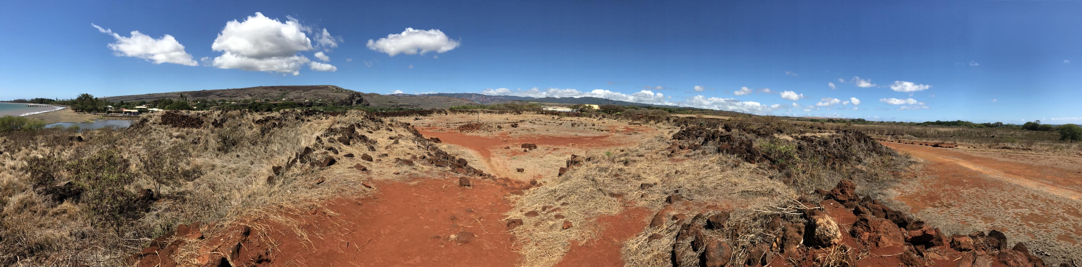 Le fort russe de Kauai, démantelé, il n'en reste rien !
