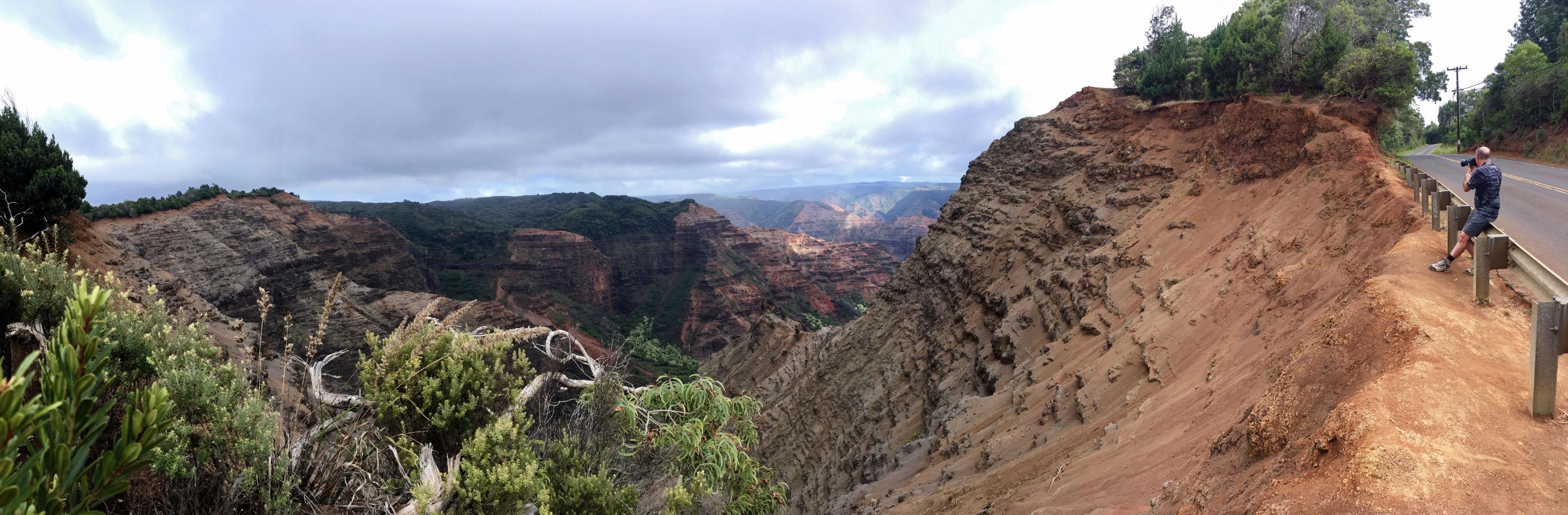 Un panorama brut sur Waimea Canyon