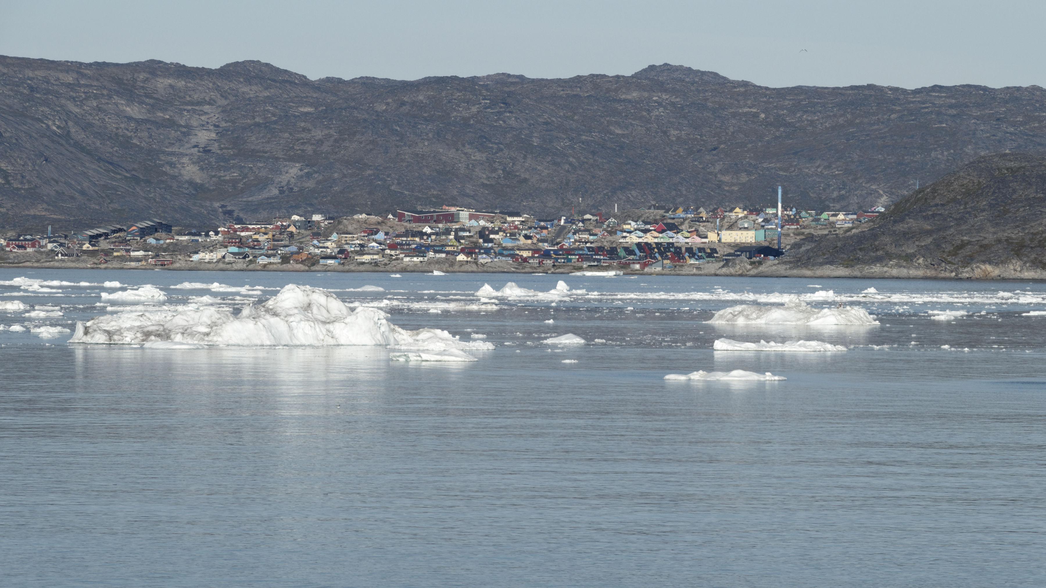 Ilulissat, au fond de la baie de Disko