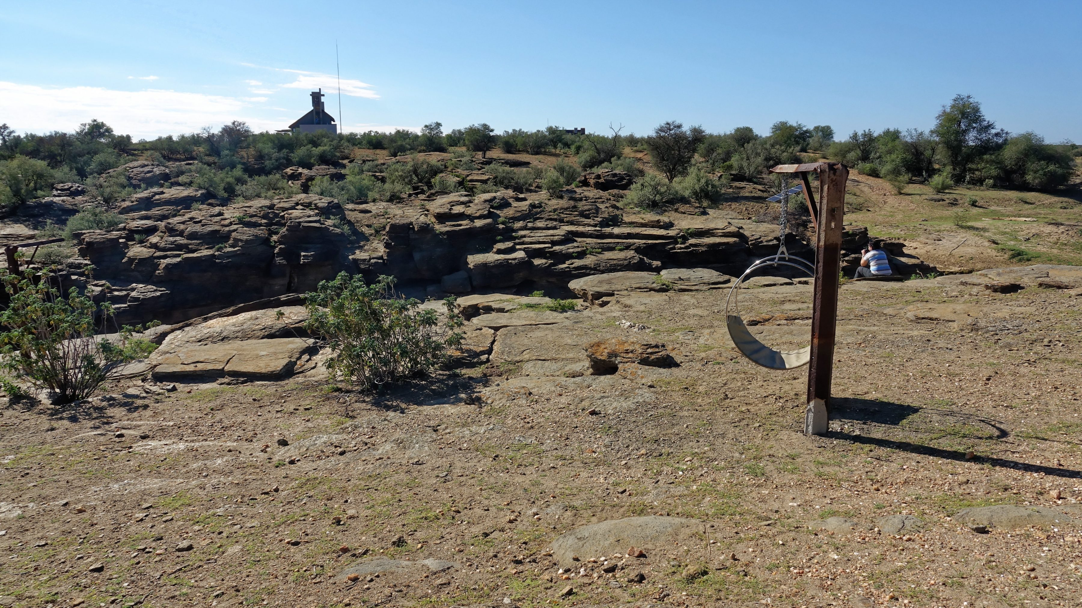 L'environnement aride du Naankuse Lodge